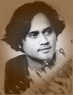 Krishna Bhatt in his teens.